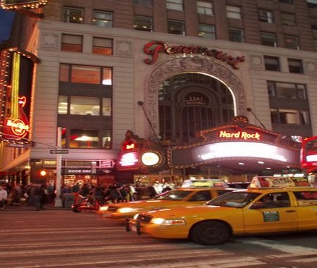 Hard Rock CAfe Nueva New York